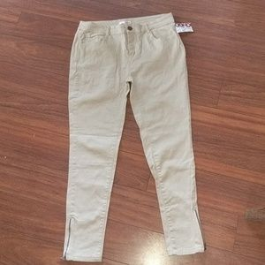 Super Soft Ankle Length Twill Pants NWT